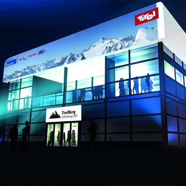 Stiegenhaushof bei der Ski-WM in Schladming